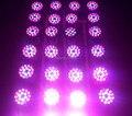 Светодиодная лампа для выращивания растений  54 Вт  38 ламп E27  бесплатная доставка