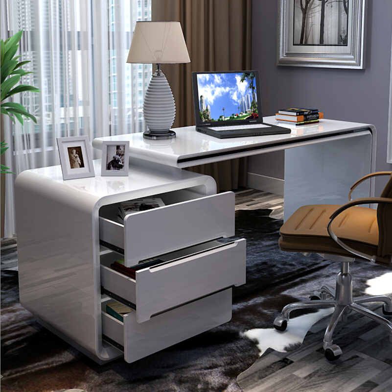 household paint desktop computer desk office multifunction fashion bedroom study specials tablechina mainland bedroom office desk