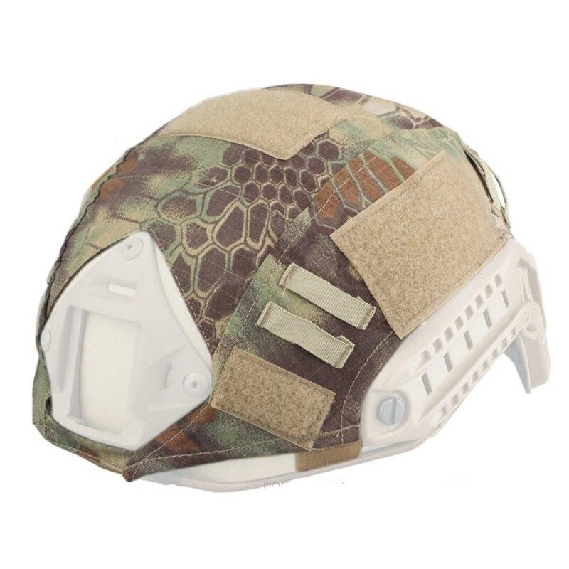 Wargame ejército Airsoft Tactical casco militar cubierta para casco rápido  BJ PJ MH Multicam envío libre bb7d641c994