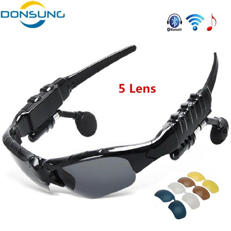 Donsung Bluetooth Велоспорт Очки поляризационные спорта на открытом воздухе двигатель Ве ...
