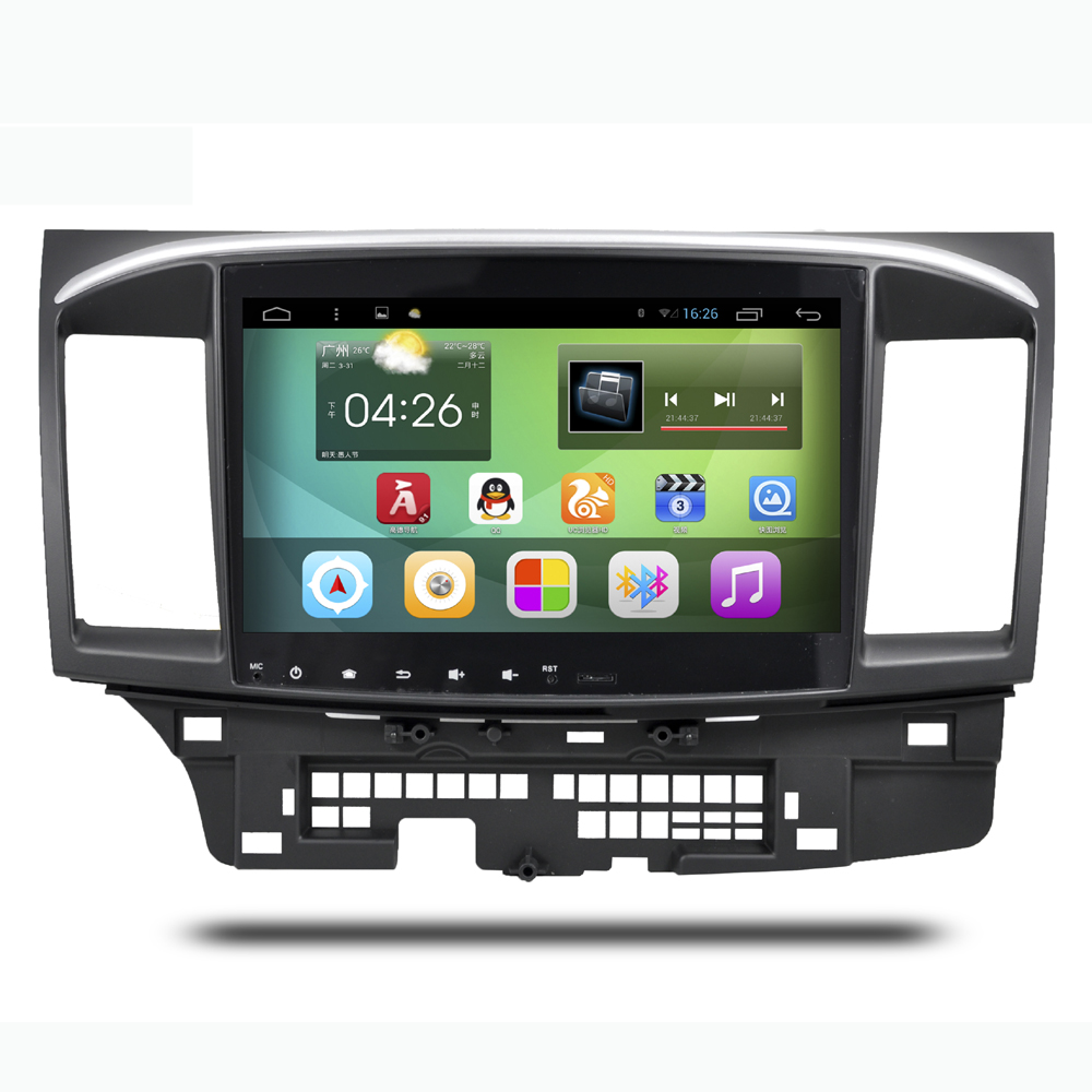 10.2 Inch Screen Android 4.4 System Car Navigation GPS