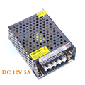 60W Power Switching Switch AC110 / 220V To DC 12V 5A Supply Driver for LED Strip Light