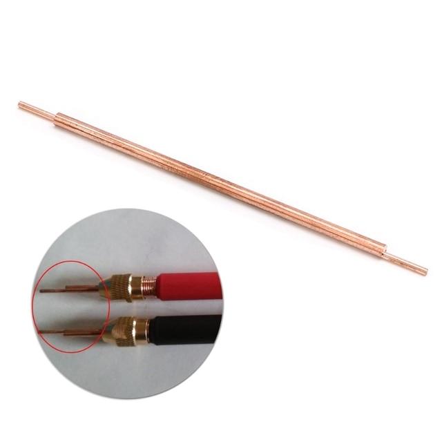 3x100 soldador punto soldadura pin soldadura accesorios alúmina cobre soldadura pies