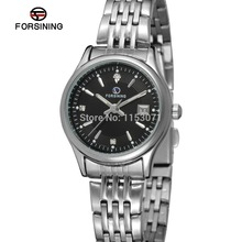 FSL8089Q4S2 Forsining новая мода кварцевые женские часы из нержавеющей стали браслет подарочная коробка оригинала бесплатная доставка высокое качество