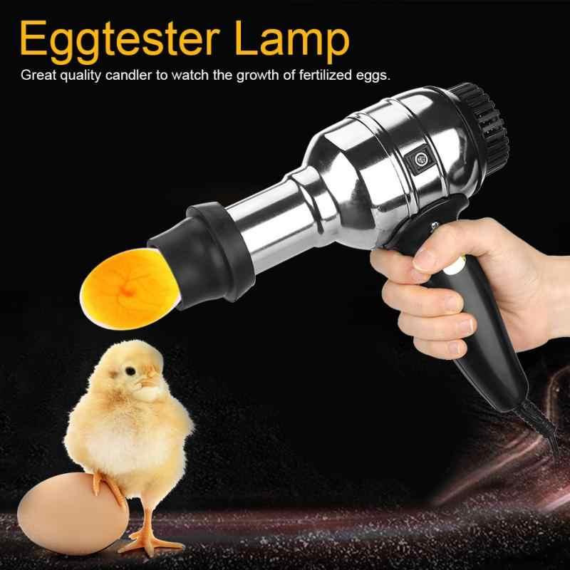 RechargRechargeable светодиодный светильник для яиц выделенный яичный тестер инкубатор оборудование для наблюдения за инкубацией яиц US Plug110V