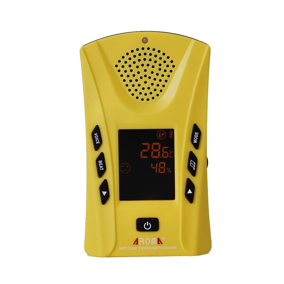 Guitar Metronome Aroma AMT-703H Multifunctional Metronome/Tuner/Hygrometer/Thermometer