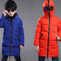 2016 New Winter Boys Altman Down Jackets Cool Glasses Duck Down Jackets Boys Parka Warm Coat Girls Outerwear Kids Clothes