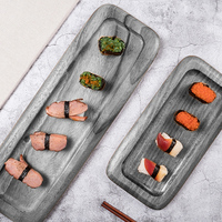 New silicone mold cement decorative tray ashtray water concrete jewelry display storage catering plate mold