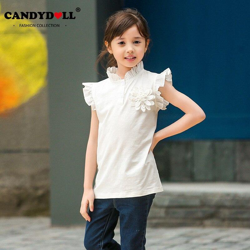 Candydoll Children Girls T Shirts Summer Girls Top Tee