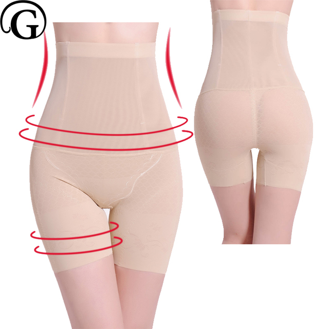 063bb2f069a PRAYGER Women Slimming Thigh Control Panties High Waist Abdomen Sculpting Body  Shaper Lift Butt Underwear