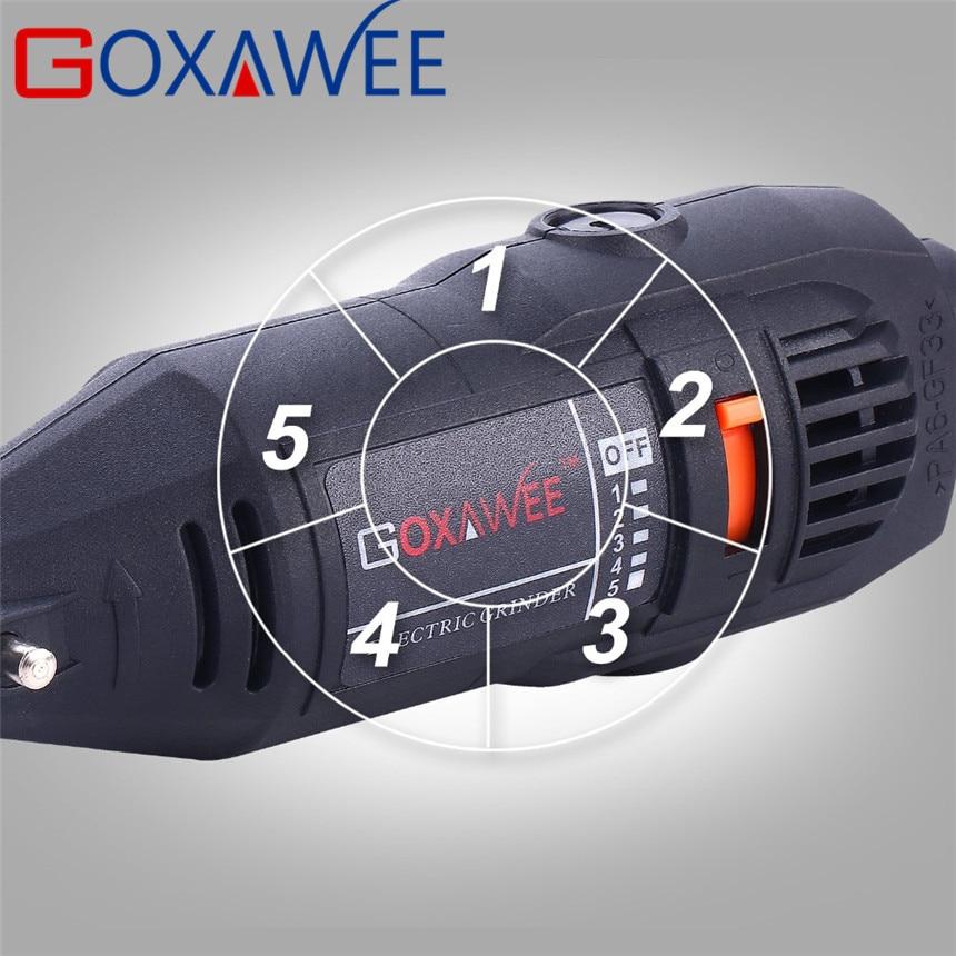 """""""GOXAWEE 130W"""" elektrinis mini gręžimo graviravimo """"Dremel"""" - Elektriniai įrankiai - Nuotrauka 4"""