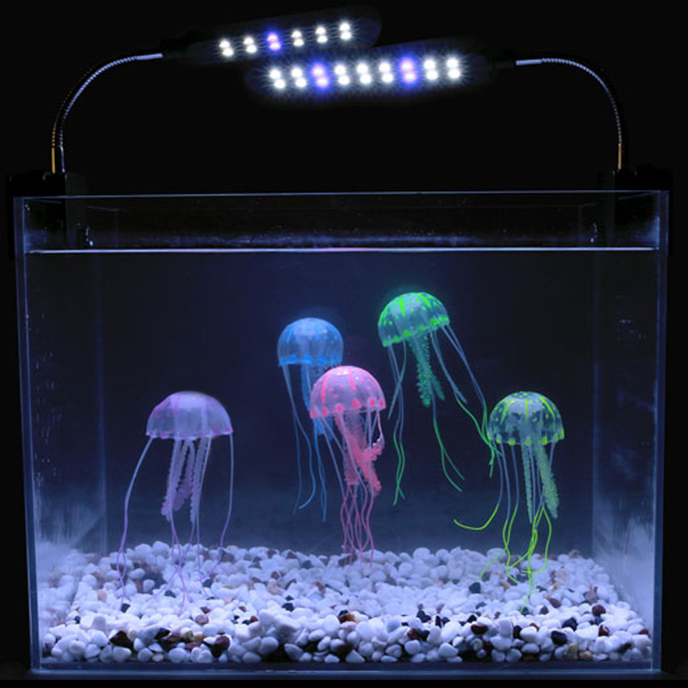 Compare prices on blue jellyfish online shopping buy low for Aquarium decoration online