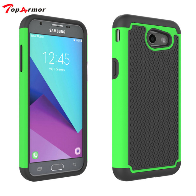 best website d8a91 c3bae US $3.54 11% OFF TopArmor Case For Samsung Galaxy J3 2017 J330 US Edition  Phone case rubber cushion bumper cover armor shock proof Phone shell-in ...