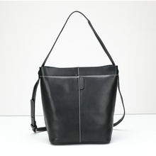 Fashion New Women Real Genuine Leather Casual Tote Bag Women Handbag Large font b Shoulder b