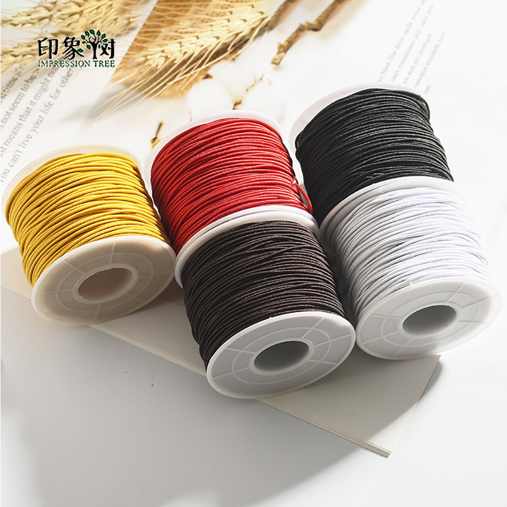 0.8/1.0/1.2/1.5MM High Stretch Round Elastic Cord DIY Crafts Bracelet Necklace Jewelry Beads Decoration Thread 40092
