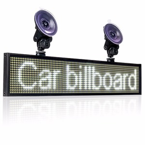 Image 5 - Hot 12V P5mm SMD LED Signs 50cm white Bright Digital Programmable Scrolling Ad Message Display board / Business Tools +2 sucker