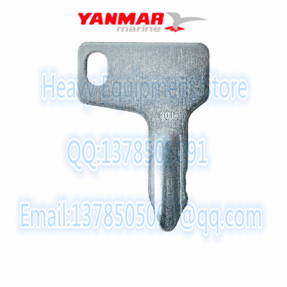 Yanmar Key keychain Excavator Equipment Key Tractor Ignition John Deere Marine 2