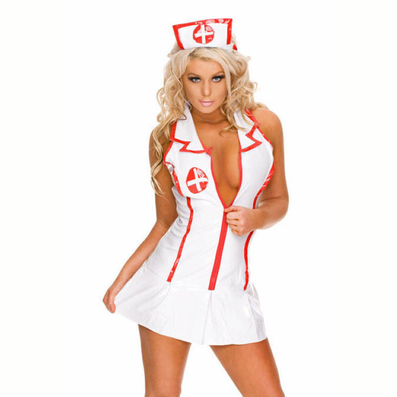 1set sexy lingerie roleplay fancy hot bedroom nurse costume nurse