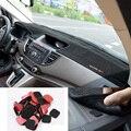 Car-styling accesorios volante a la derecha/izquierda dashmats dashboard cubierta para honda cr-v crv 2012 2013 2014 2015 2016