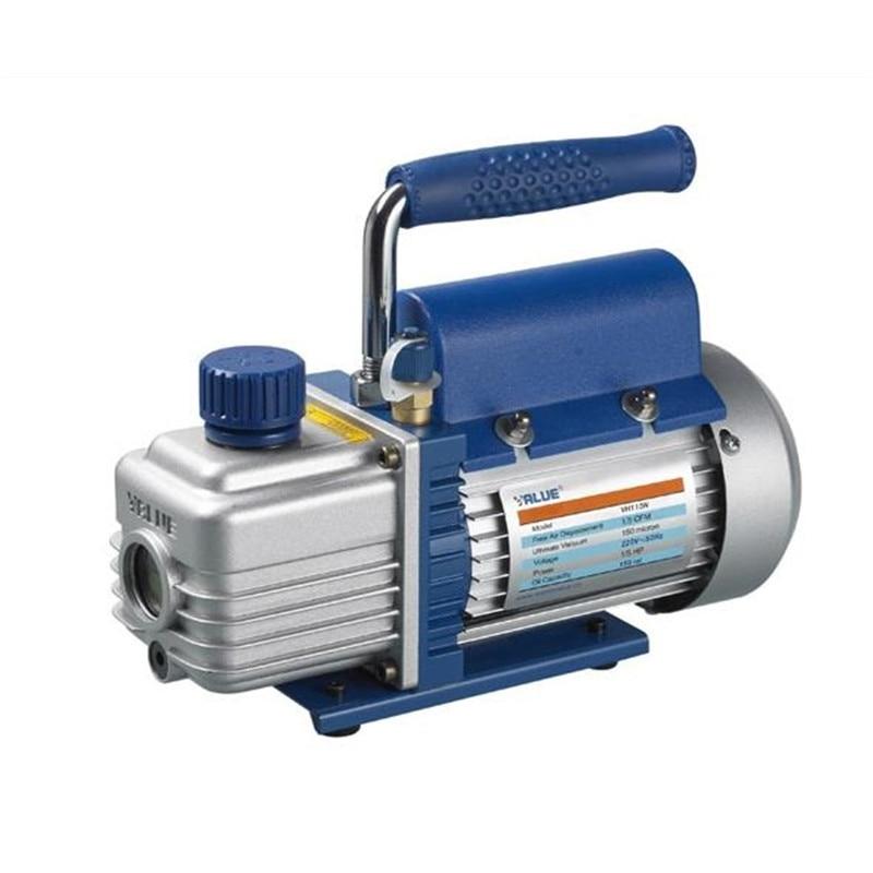 370W 2Pa vacuum pump FY-3C-N single stage rotary vane vacuum pump 3L pumping device vacuum pump Refrigeration repair tools vacuum pump inlet filters f007 7 rc3 out diameter of 340mm high is 360mm