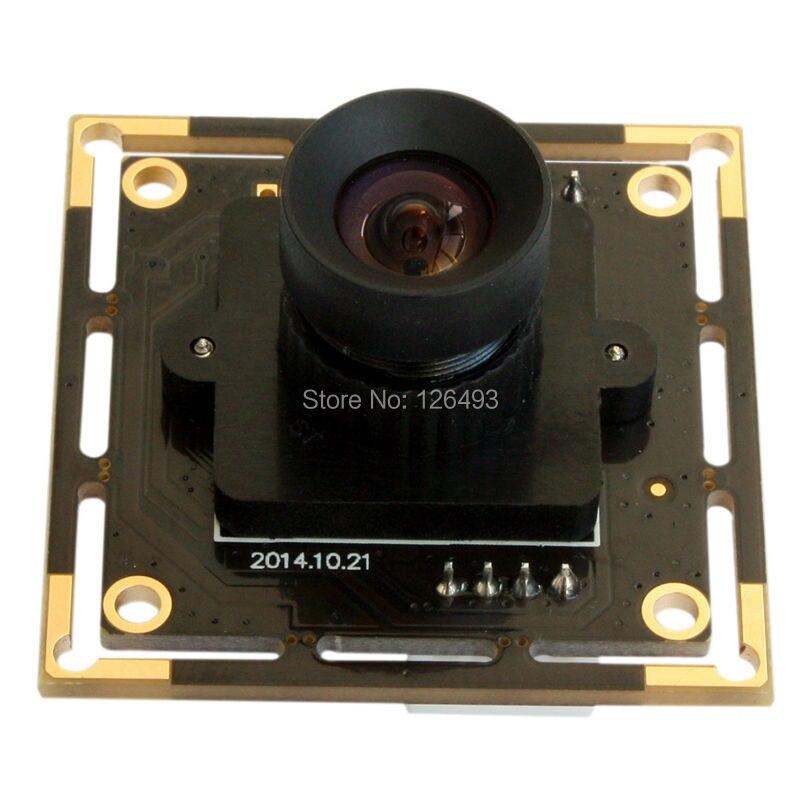 ФОТО ELP 5mp High Speed Aptina MI5100 HD MJPEG 30fps at 1080P 3.6mm lens mini CCTV usb Cmos Camera Module