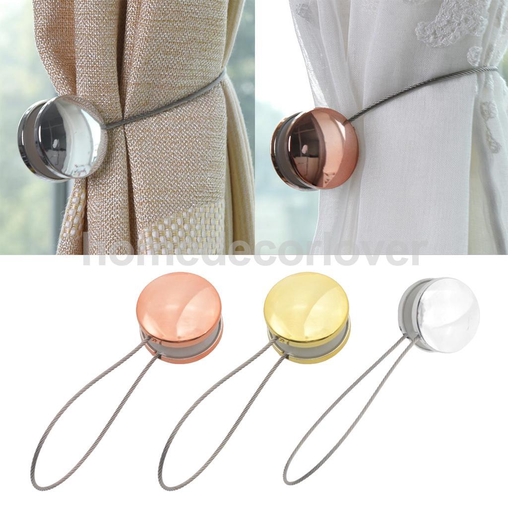 Modern Magnetische tie-backs Tiebacks Gesp Holdback Clip voor - Huisdecoratie