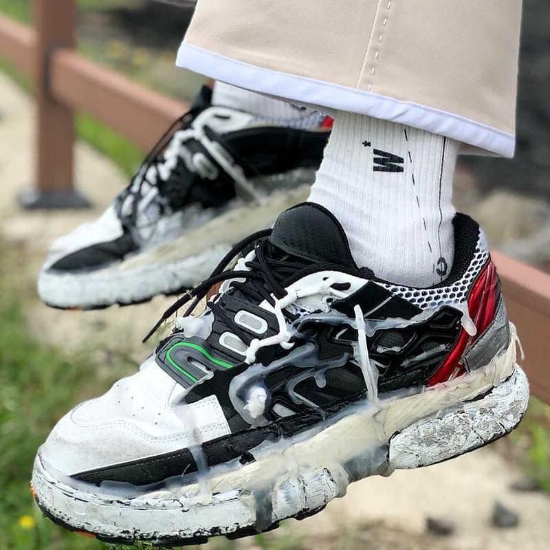 INS dadly zapatillas de deporte hombres verano Otoño de fondo grueso  Vintage sucio pegamento zapatos- cbd6d1d5423