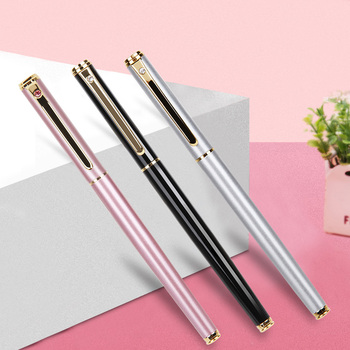 0.38mm High Quality All-Metal Lraurita Fountain Pen Kawaii Stationery Ink Pens Office School Supplies For Gift