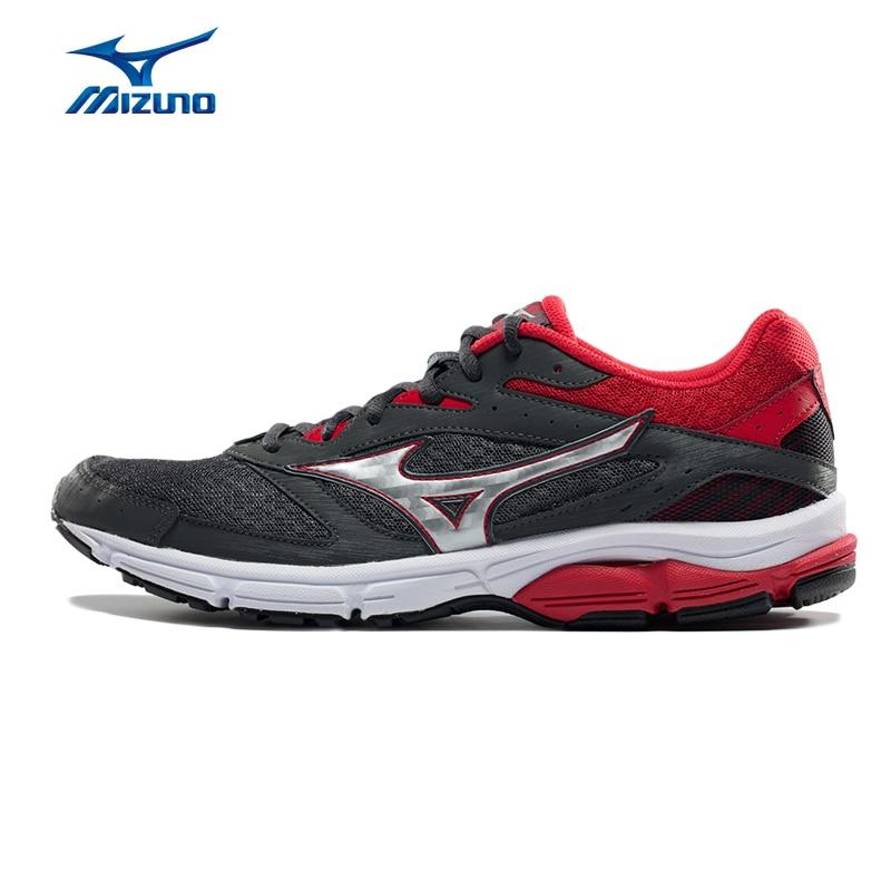 Mizuno Men's WAVE SURGE Running Shoes Cushion Stability Sneakers Light Breathable Sports Shoes J1GC171304 XYP571 mizuno men rebula v3 ag professional cushion soccer shoes sports shoes comfort wide sneakers p1ga178603 yxz069