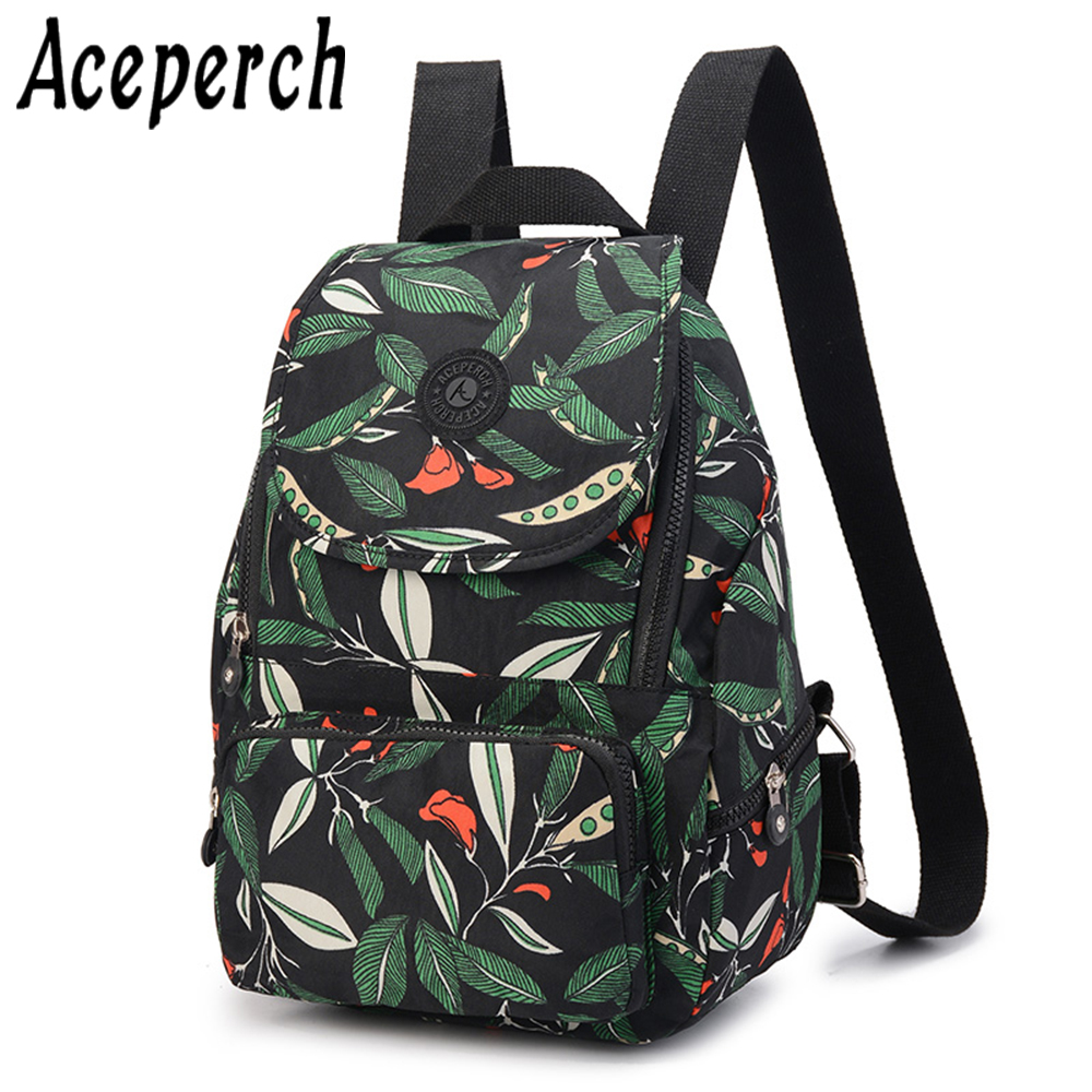 ACEPERCH Women Backpack Girl Bagpack Bolsas Mochila Feminina Escolar Shoulder Schoolbag Backpacks For Teenage Female Sac A Dos