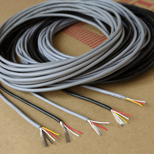 Aliexpress.com : Buy 26AWG 2Cores UL2547 Multicores Controlled Cable ...