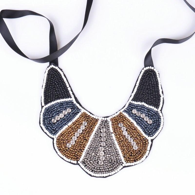 622a874facda Color profundo moda handmadeethnic Collier collar y mujeres moda  declaración collar y 2017 Nuevo llegado gargantilla collar