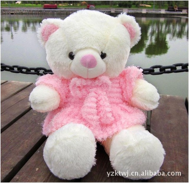 60cm Big Giant Teddy Bear Plush Toys Wholesale Loose Juice Skirt