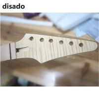 disado 24 Frets maple Electric Guitar Neck maple fingerboard wood Color Wholesale Guitar accessories parts Musical instrument