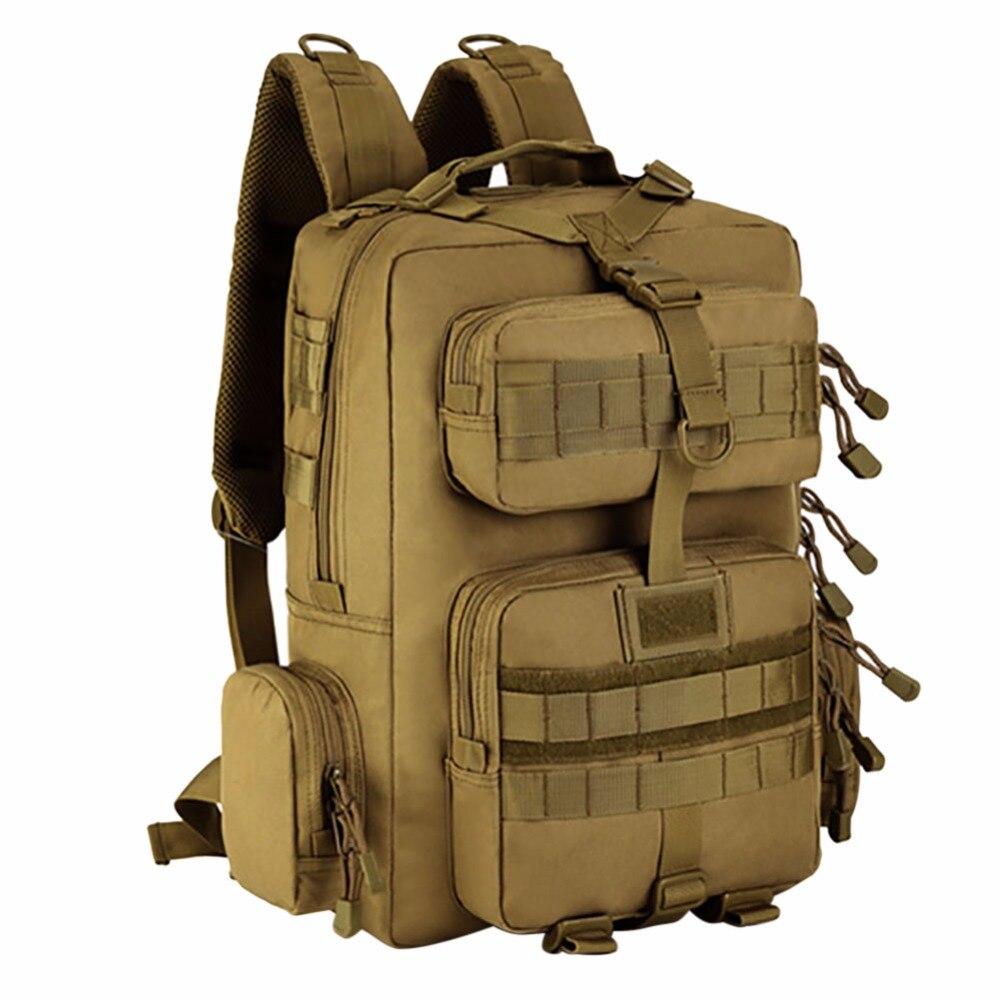 Sac à dos militaire sacs à dos de voyage sac à dos en Nylon imperméable à l'eau sacs à dos tactiques Molle sacs à dos d'ordinateur portable - 4