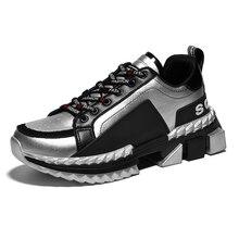 Livraison directe mode tendance chaussures décontractées hommes léger et respirant en plein air baskets élégant couture hommes parkour chaussures