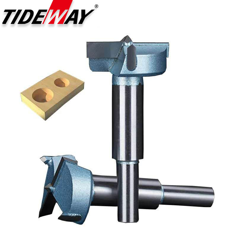 Tideway Industrial Grade Long Woodworking Hinge Hole Opener Tungsten Carbide Drill Router Bits Reamer Overlength 87.5mm-120mm