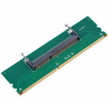 DDR3 Laptop SO-DIMM to Desktop DIMM Memory RAM Connector Adapter DDR3 New adapter of laptop Internal Memory to Desktop RAM цены онлайн