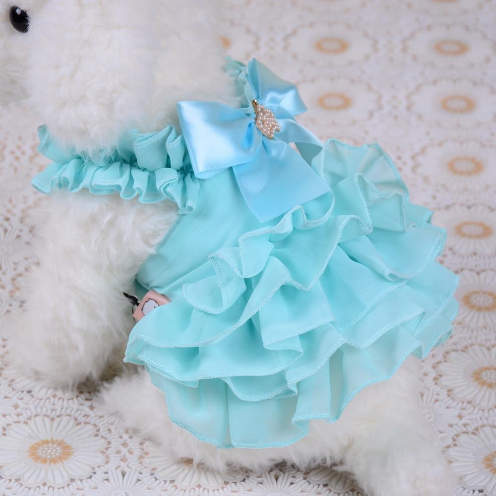 Aliexpress.com : Buy 2017 Summer Dog Clothes Princess Wedding Dress ...