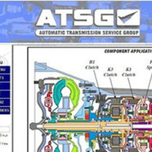 Программное обеспечение для ремонта автомобилей ATSG(группа обслуживания автоматической трансмиссии) руководство 2012(1,08 ГБ) в CD