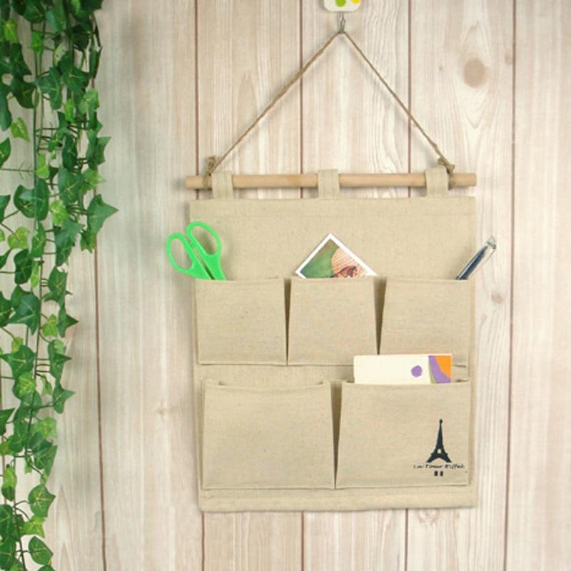 Ecofriendly Fashion Burlap Office Organizer Diy Desks Stationery Items Office Supplies Desk