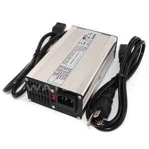 Image 2 - 84 v 3A מטען 72 v ליתיום סוללה חכם מטען משמש 20 s 72 v ליתיום סוללה גבוהה כוח עם מאוורר אלומיניום מקרה