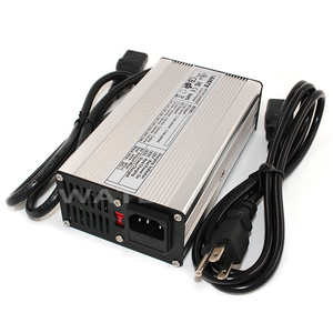 Image 2 - 84V 3A Charger 72V Li ion Battery Smart Charger Used for 20S 72V Li ion Battery High Power With Fan Aluminum Case
