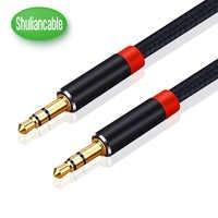 Shuliancable Jack 3,5 Audio Kabel 0,3-5 m 3,5mm Lautsprecher Linie Aux Kabel für iphone Samsung xiaomi galaxy s8 auto Kopfhörer Audio