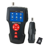 Digital Cable Tester RJ45 RJ11 BNC Coax Telephone Multi Function Handheld Network Cable Tester Error Detector
