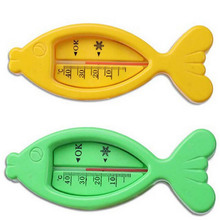 Water Thermometers Plastic Float baby care Bath Shower Product Baby boy girl Bath Toy Tester Kid Promotion Floating Fish cute