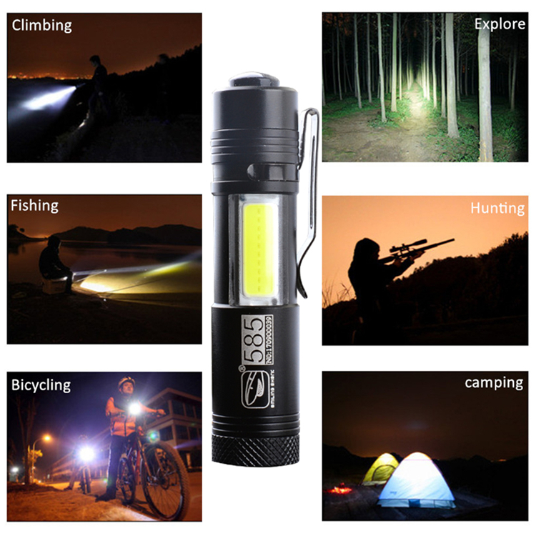 mini LED flashlight5