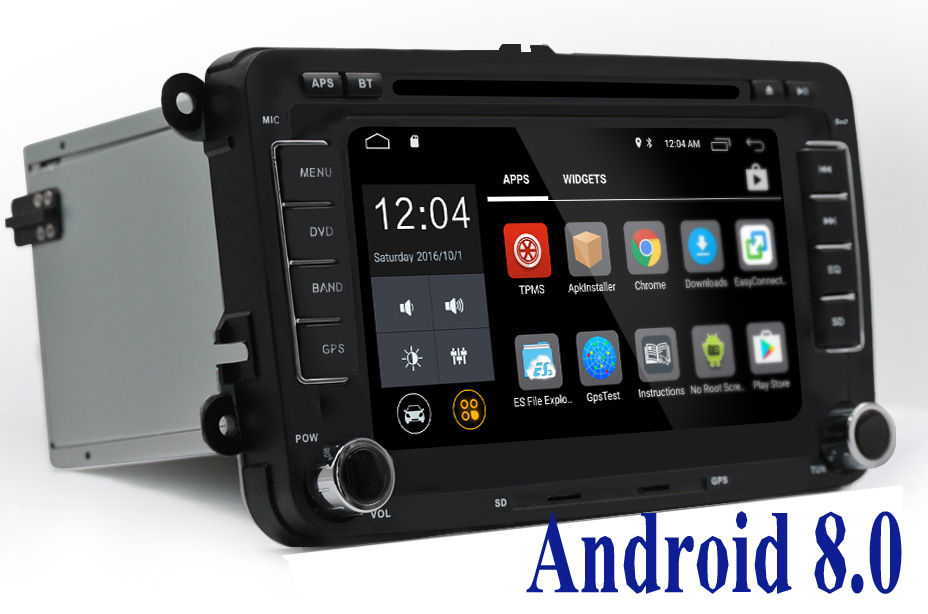 android 8 0 2 din car dvd player for seat altea leon. Black Bedroom Furniture Sets. Home Design Ideas