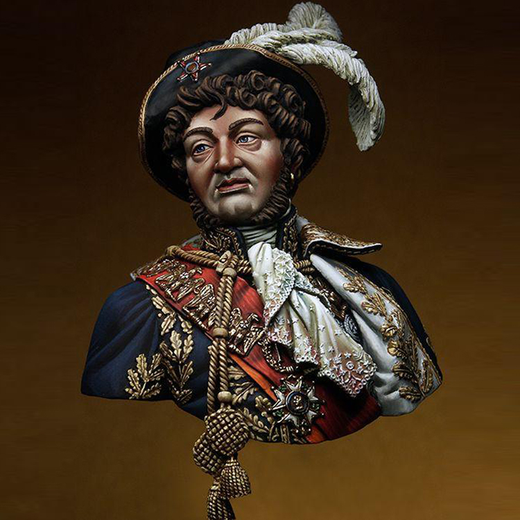 1/9 scale model figures kits  Resin Bust film history role model kits free shipping Unpainted and not assembled wwii hms surprise captain jack resin soldier bust model resin bust master and commander