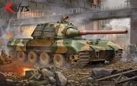 RealTS Trumpeter Model 00384 1/35 Duitse E 100 Super Heavy Tank model kit